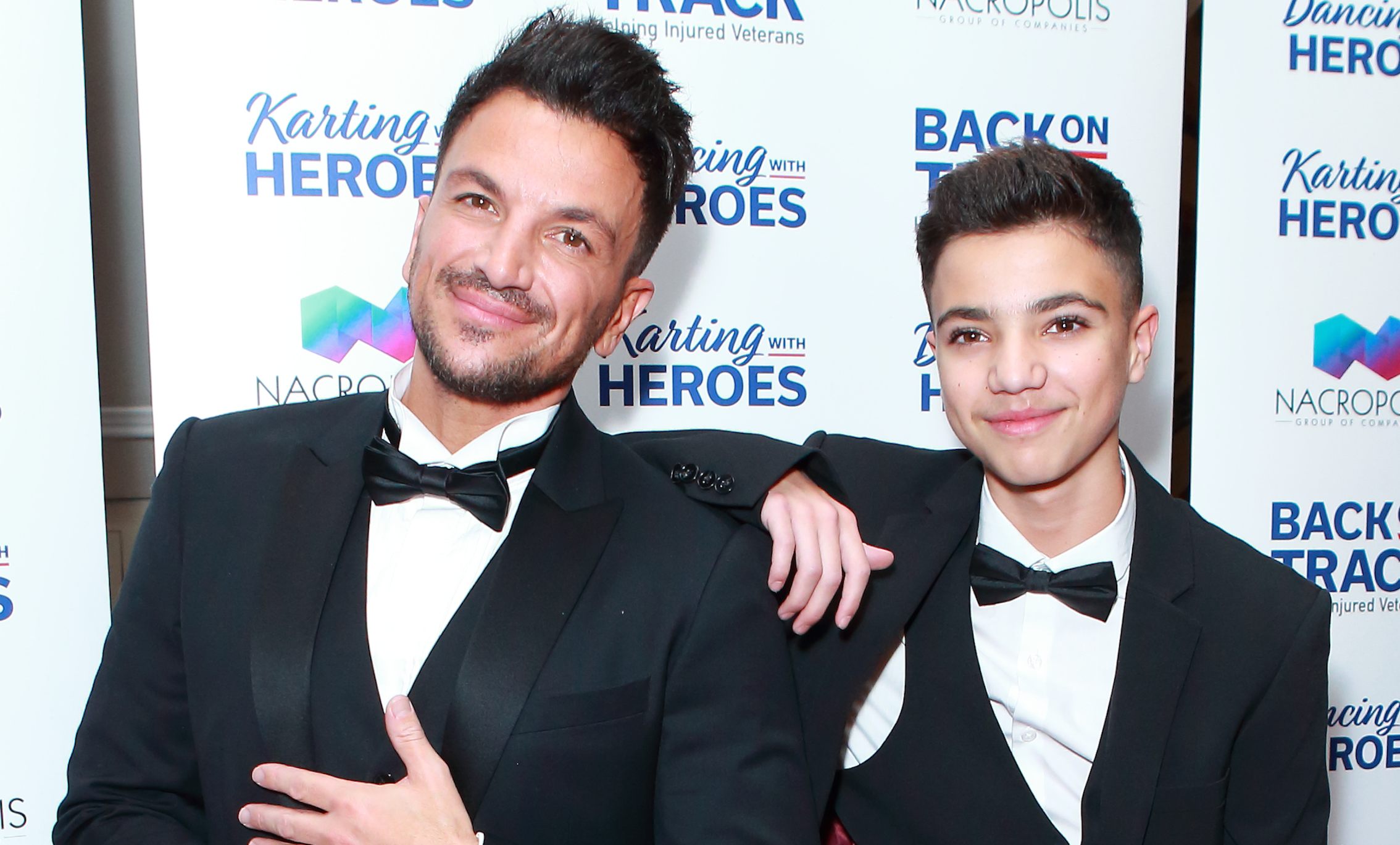 Peter Andre reveals he and Katie Price are friends during sweet tribute to son Junior