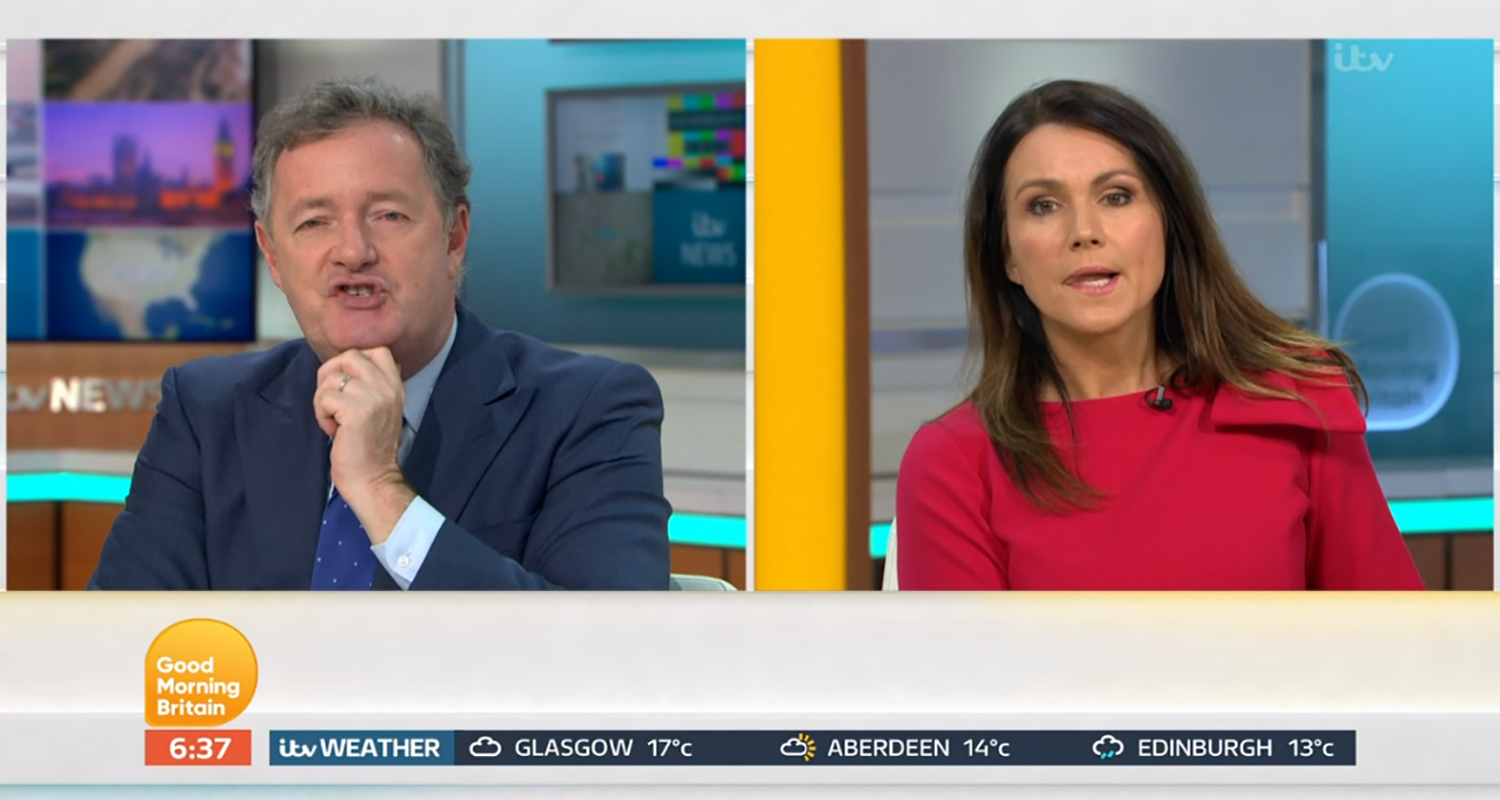 Piers Morgan hits back as GMB viewer accuses him of 'lying to the country'