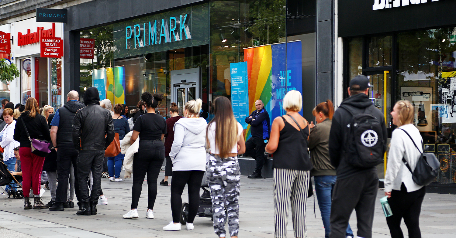 Primark shoppers branded 'stupid' as they queue outside stores from 5am