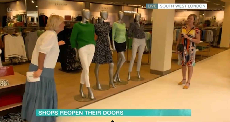 This Morning fans mock shopper for dashing to John Lewis for Mulberry handbag