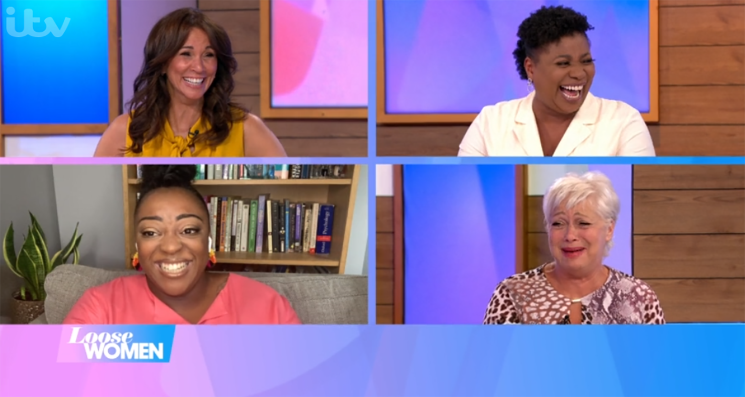 Loose Women cut to 30 minutes for rest of the week due to horse racing