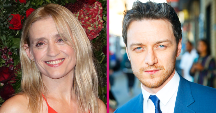Why did Anne-Marie Duff and James McAvoy split