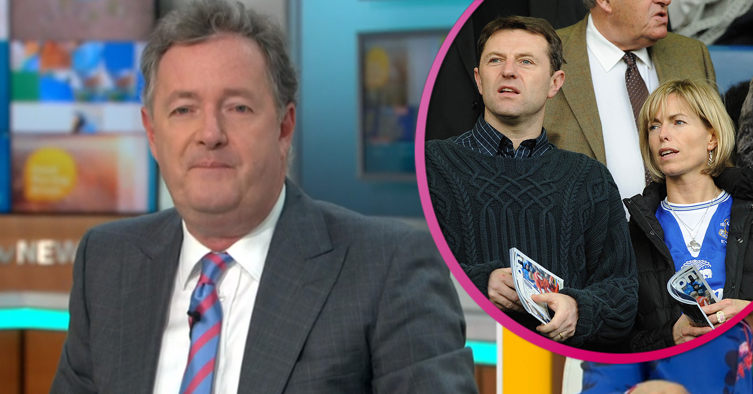 Piers Morgan questions police's decision to 'tell Madeleine McCann's parents she's dead'