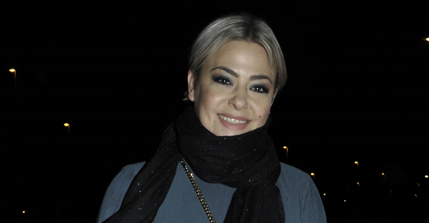 Lisa Armstrong shows off sparkly lockdown hair transformation