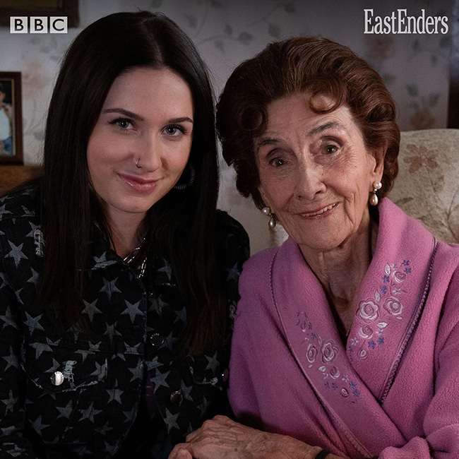 Who plays Dotty in EastEnders
