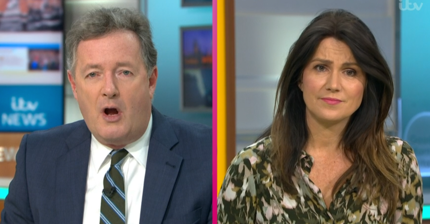 GMB fans switch off over Piers Morgan and Susanna Reid's 'pathetic' comments about the government
