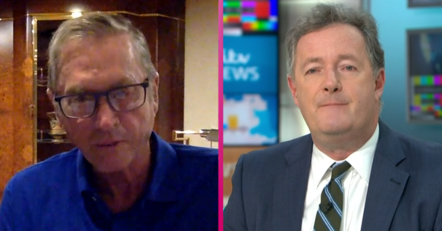 Lord Ashcroft praised for calling out Piers Morgan after he shamelessly hijacks GMB interview