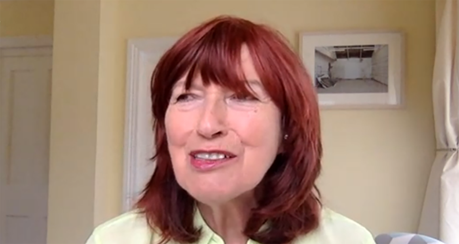 Janet Street Porter reveals long cut on her nose on Loose Women after skin cancer operation