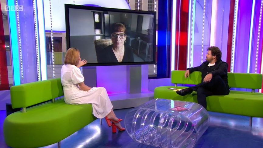 Darcey Bussell on The One Show 2