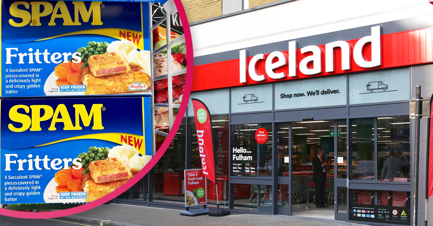 Shoppers divided as frozen food giant Iceland launches Spam Fritters