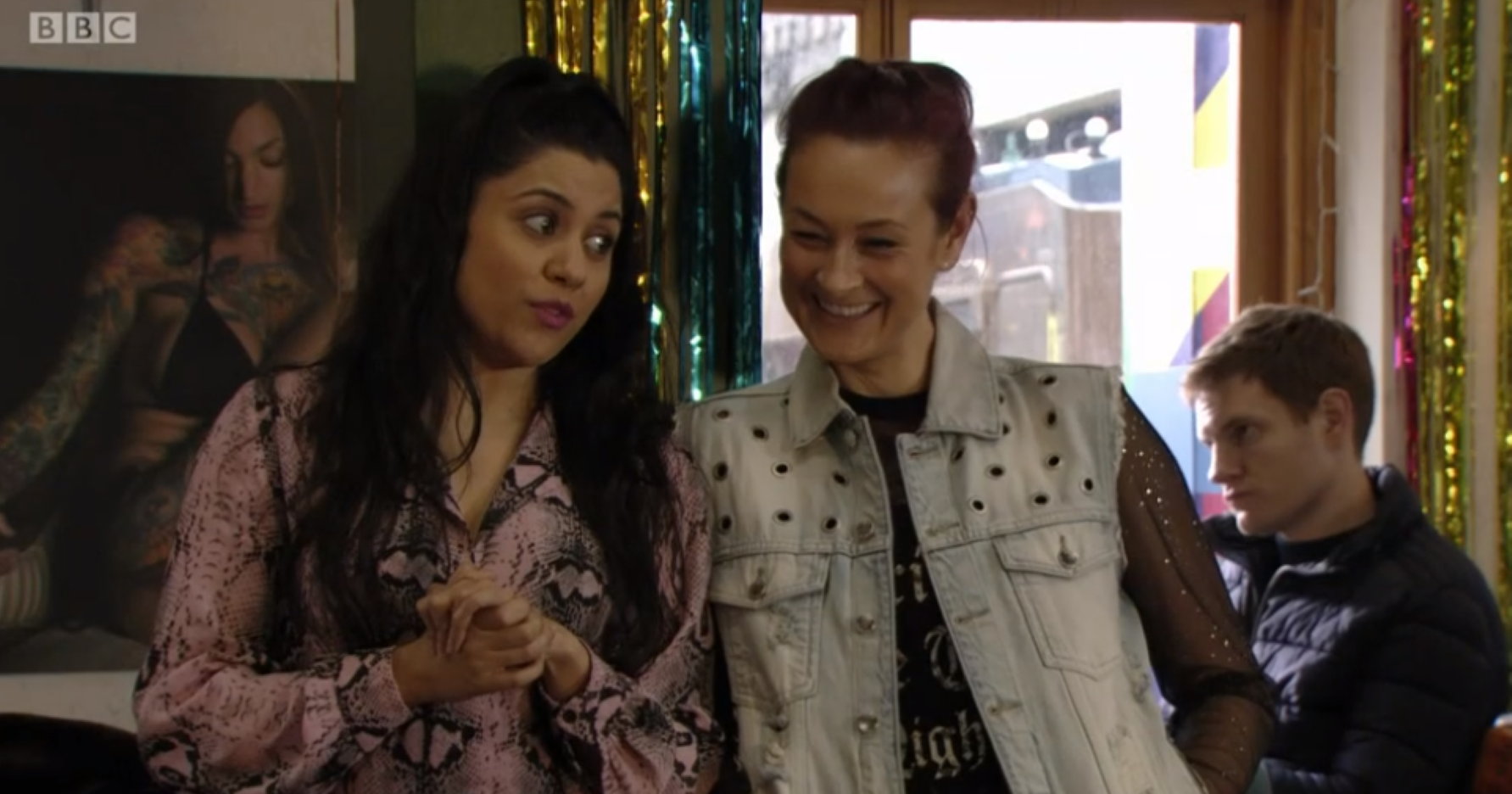 EastEnders viewers predict affair for Tina and Iqra after spotting hint in final episode