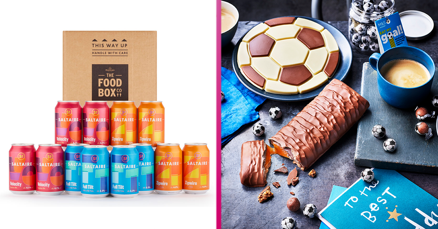 Morrisons and M&S launch food and booze gifts perfect for Dad this Father's Day