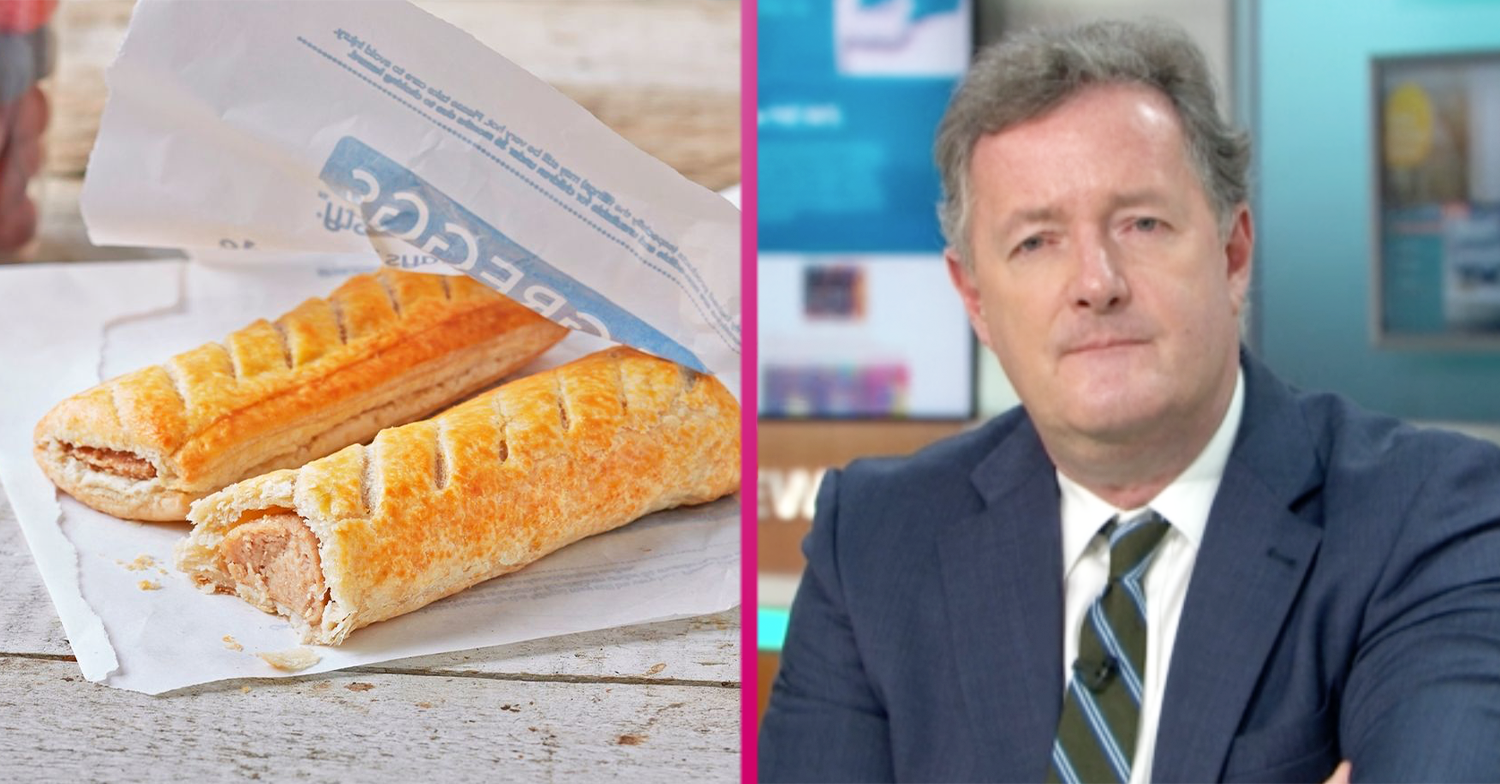 Piers Morgan says Greggs fans 'need a psychiatrist' as 800 stores reopen