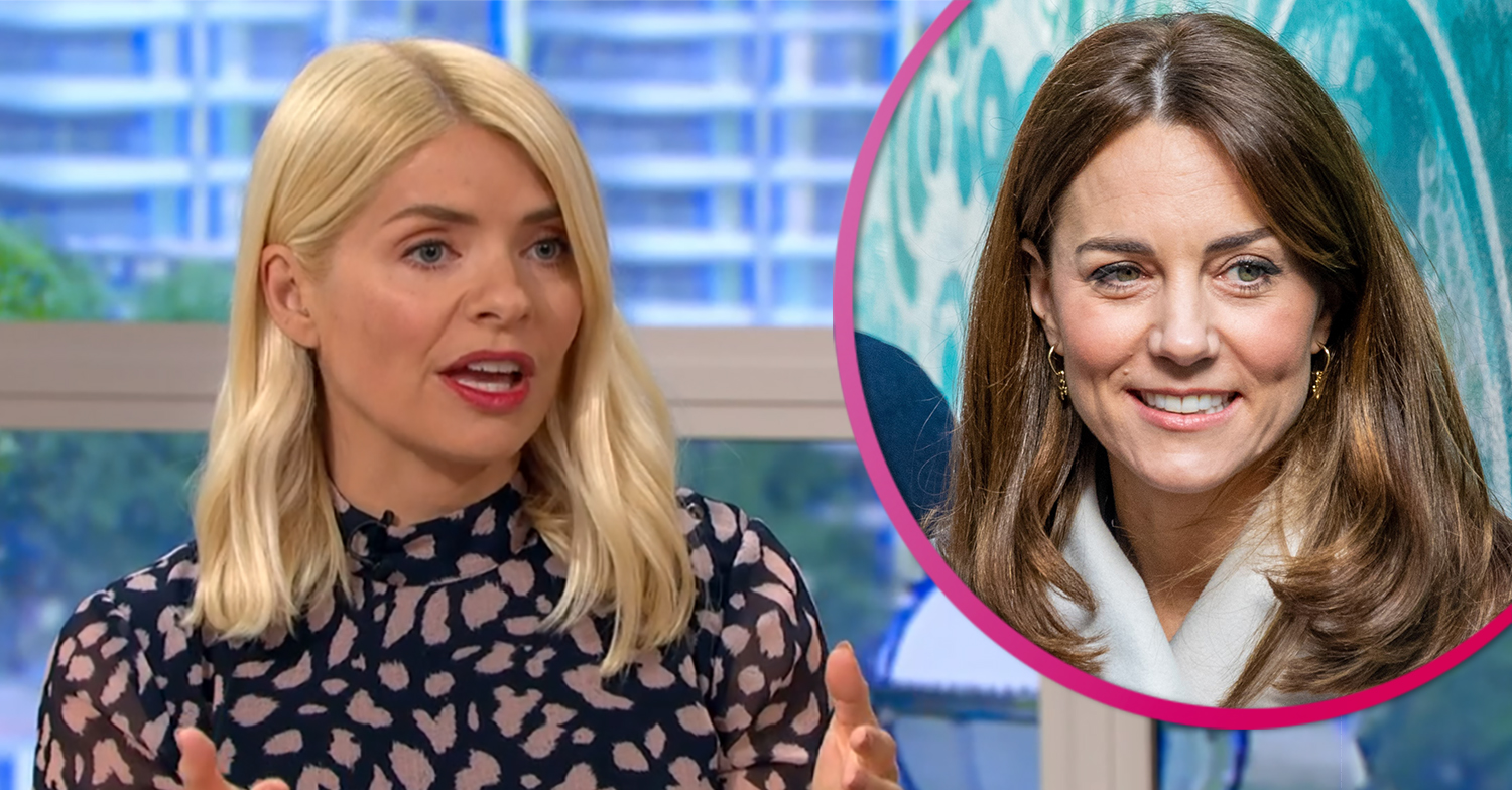 Holly Willoughby issues apology to Kate live on This Morning after blunder