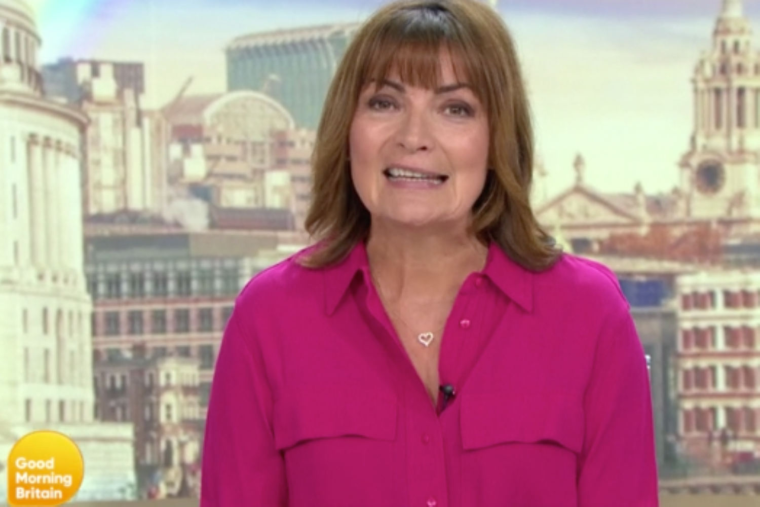 Lorraine Kelly reveals why she's taken her wedding ring off on Good Morning Britain