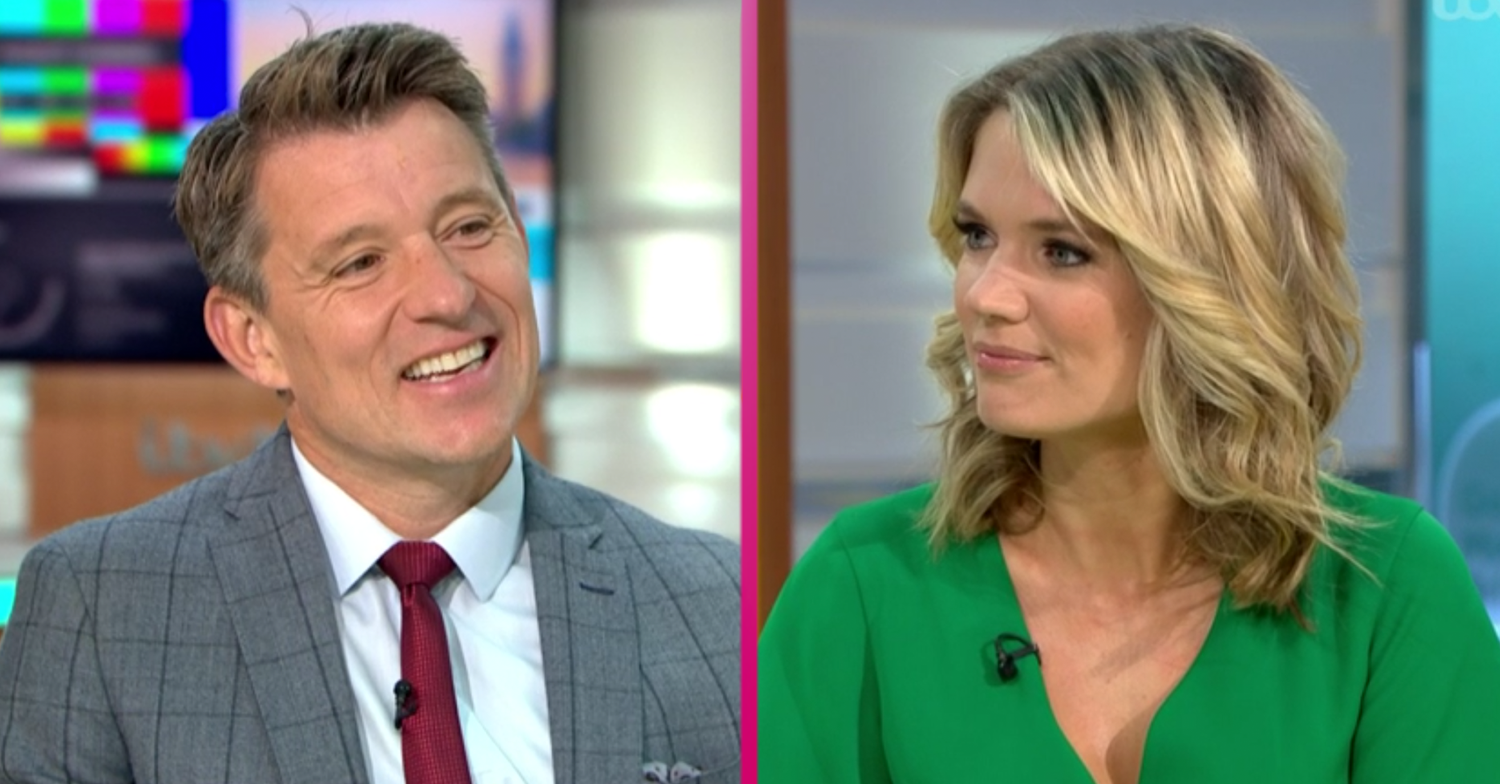 Good Morning Britain's Ben Shephard leaves Charlotte Hawkins disgusted with marmite deodorant