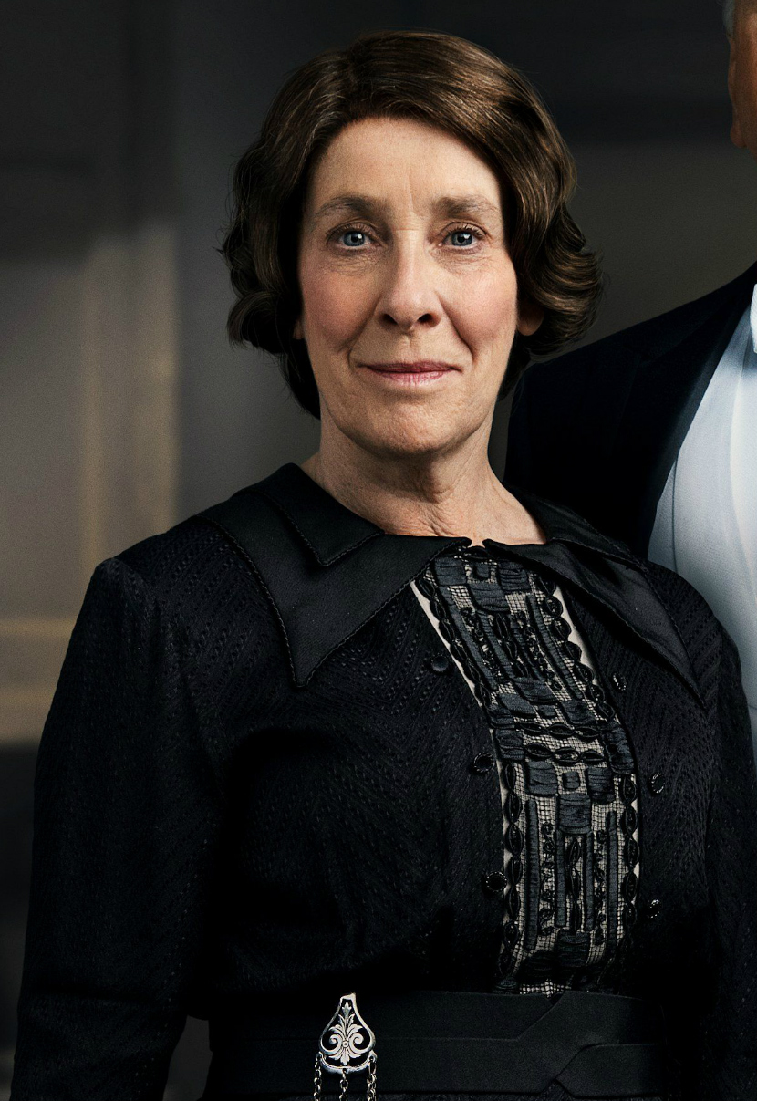 Mrs Hughes Downton Abbey