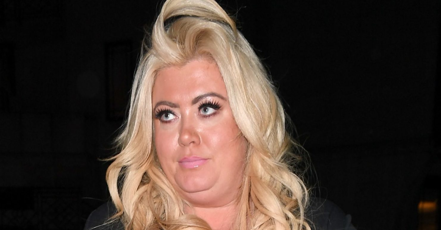 Gemma Collins shows off three stone weight loss in Ascot dress
