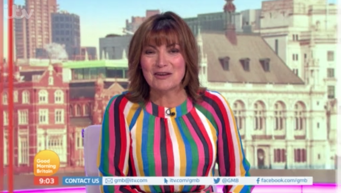Charlotte Hawkins reveals what Lorraine Kelly wears underneath the Good Morning Britain desk