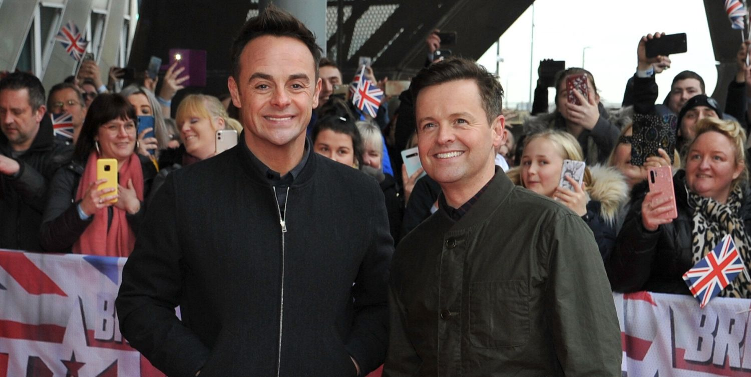 Ant McPartlin and Dec Donnelly reunited after being apart for lockdown