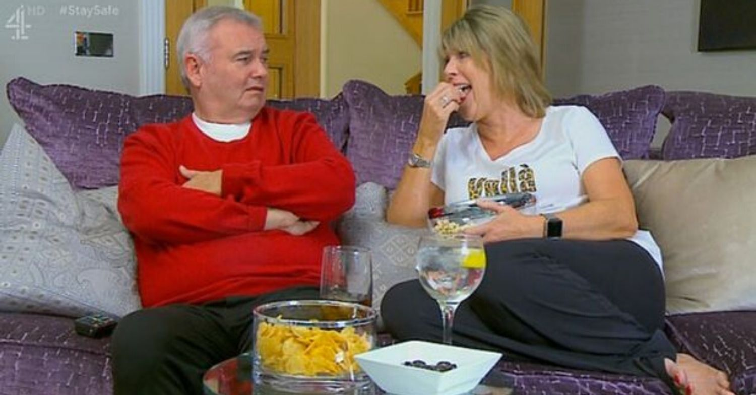 Celebrity Gogglebox fans in hysterics as Ruth Langsford horrifies Eamonn Holmes with X-rated confession