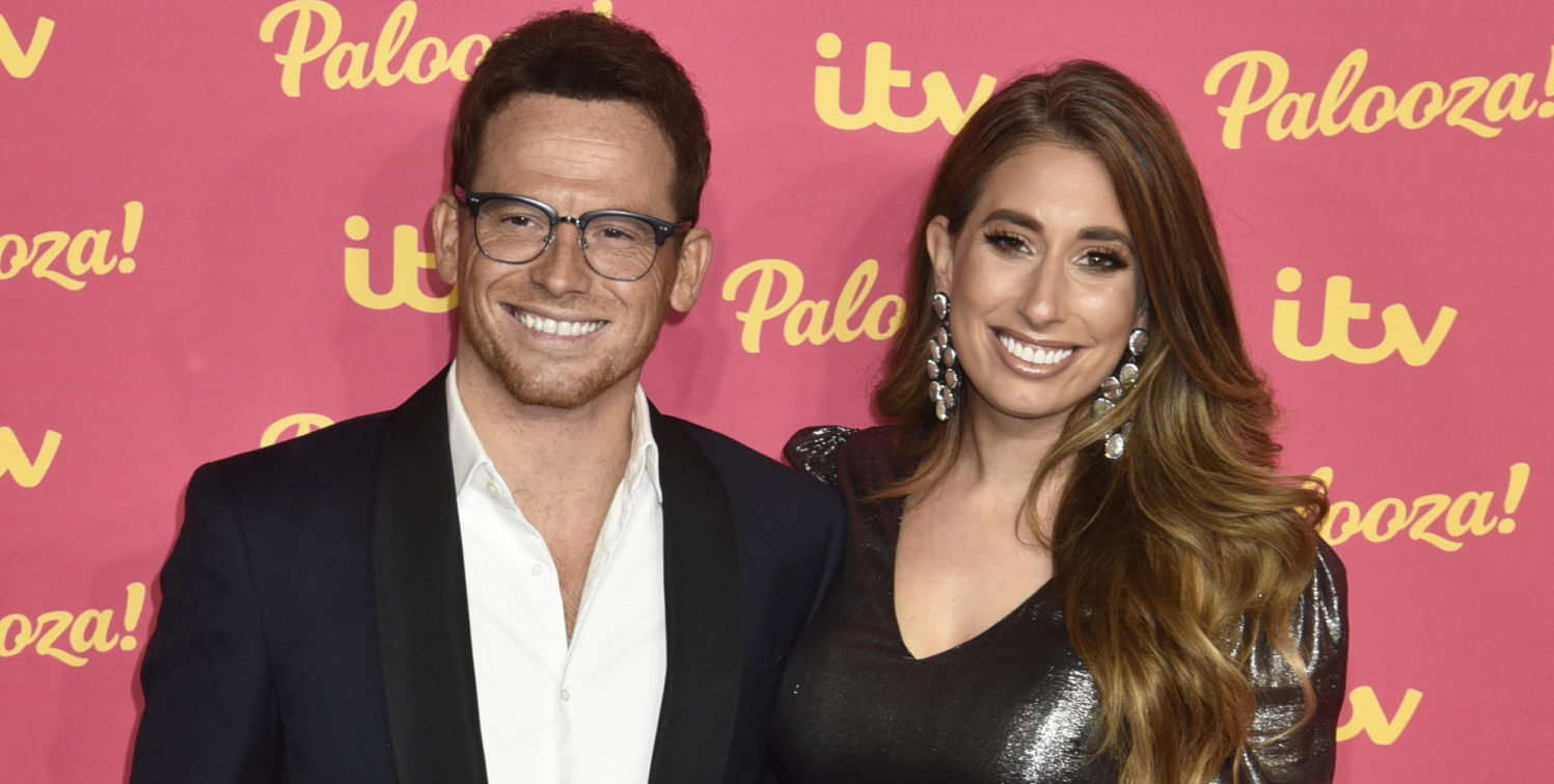 Joe Swash unimpressed as he finds Stacey Solomon hiding in the loo