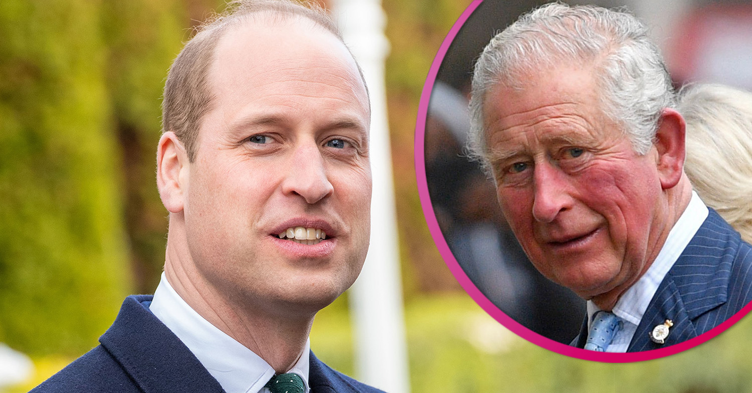 William wraps arm around dad Prince Charles in new photo released to mark his birthday