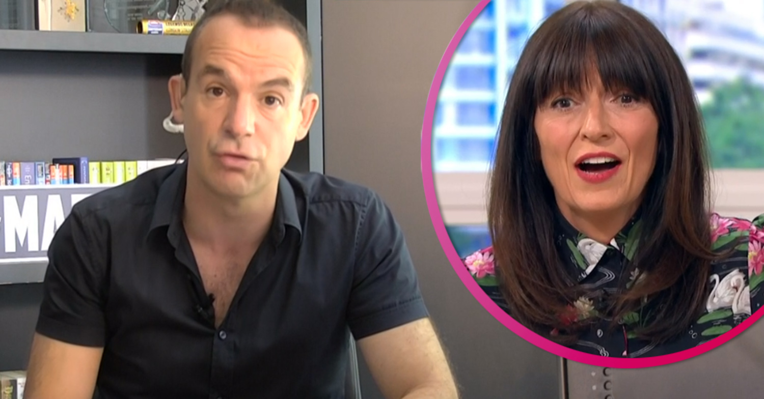 Martin Lewis apologises to Davina McCall for mistaking her for Holly Willoughby