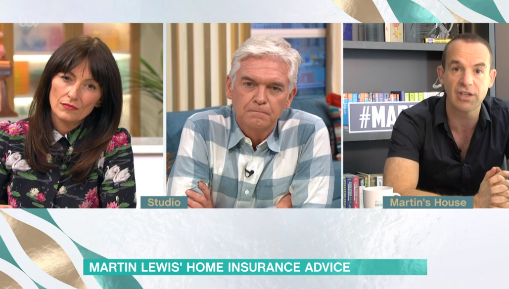 Martin Lewis and Davina McCall on This Morning