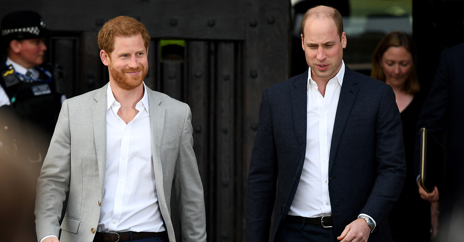 Prince William and Prince Harry rift 'began during childhood' new book claims