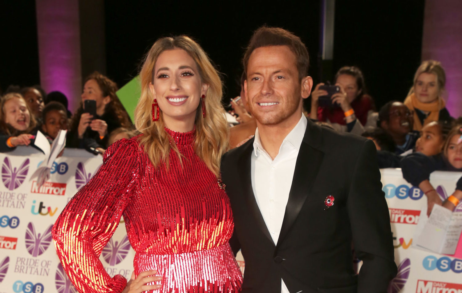 Stacey Solomon in hysterics after leaving Joe Swash 'sick' with pork chop breakfast