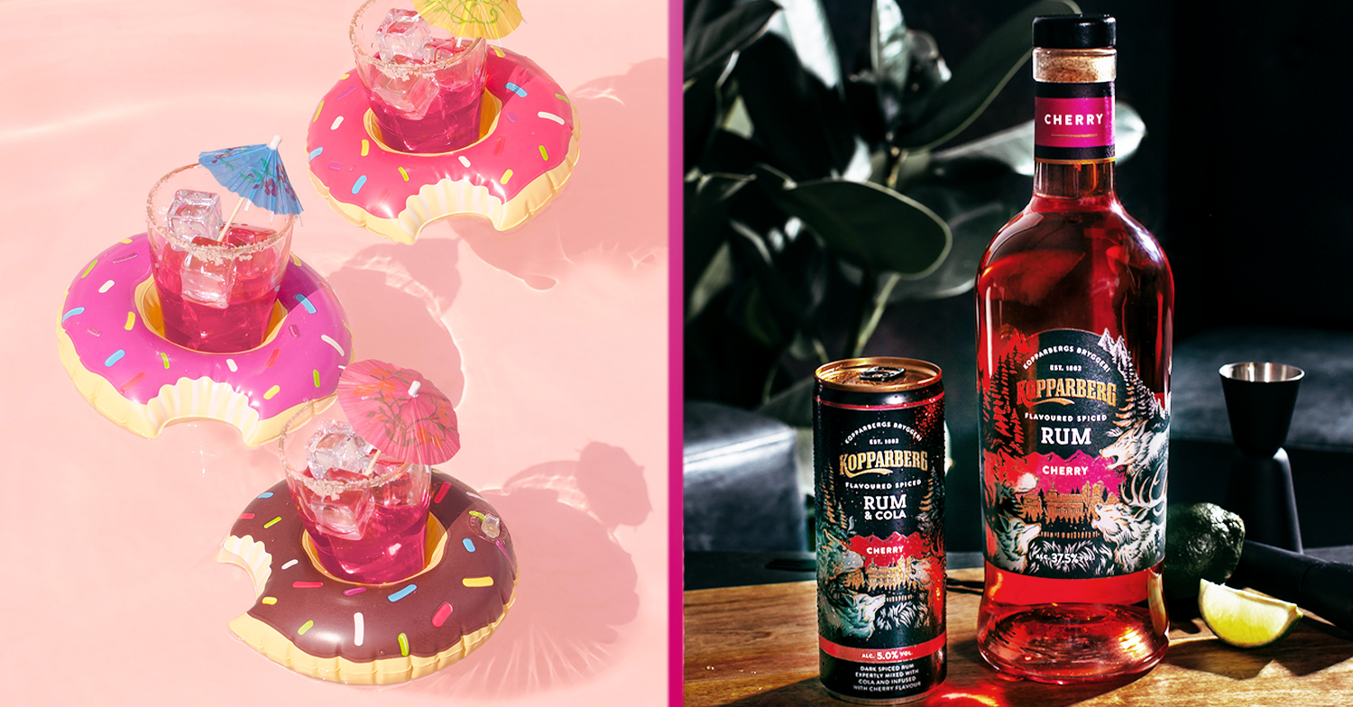 Kopparberg launches new cherry rum range that's perfect for summer