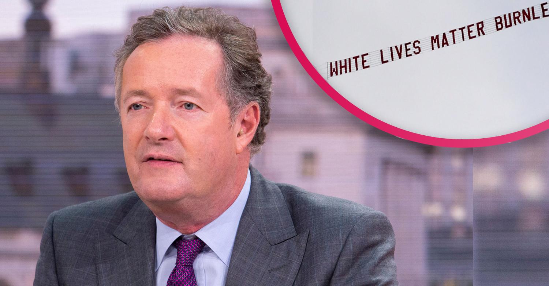 'White Lives Matter' banner sparks 'frightening' debate on GMB