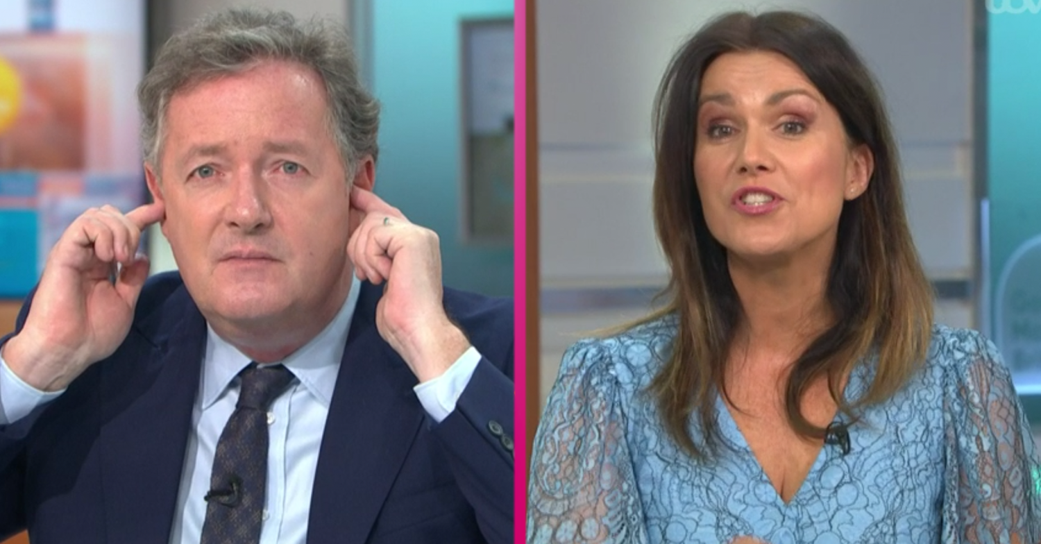 Piers Morgan apologises to GMB viewers after row with Susanna Reid live on air