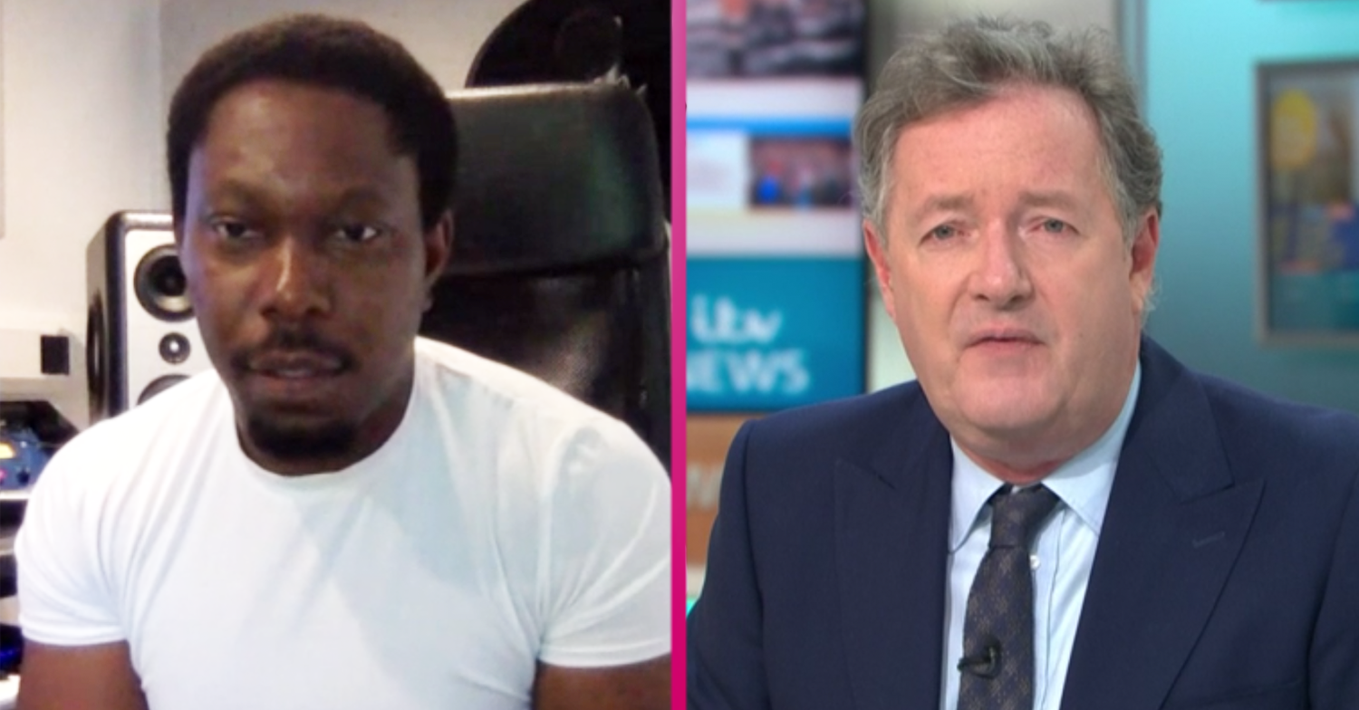 Dizzee Rascal refuses to discuss Black Lives Matter in Piers Morgan clash