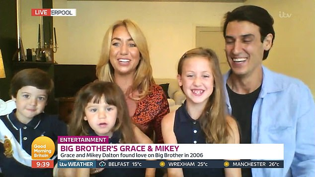 Mikey and Grace Big Brother (Credit: ITV)