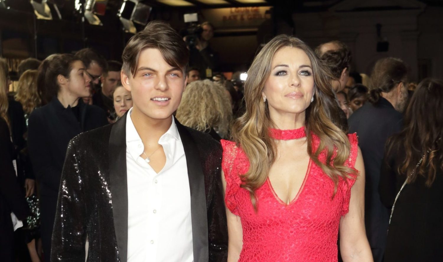 Elizabeth Hurley and son Damian share touching tributes to Steve Bing after his death