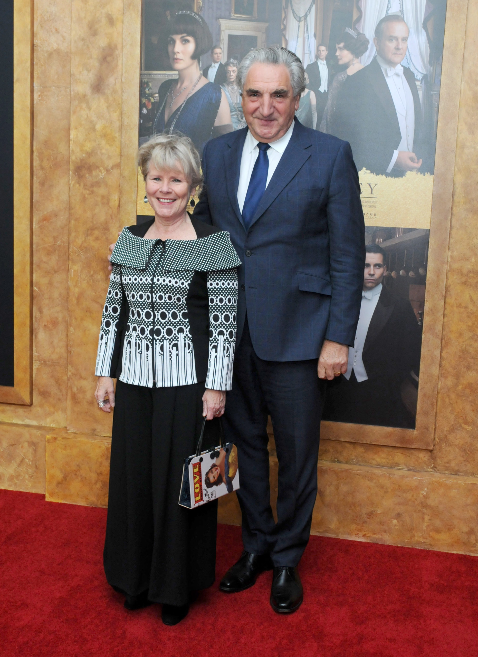Imelda Staunton Jim Carter (Credit: Splash News)