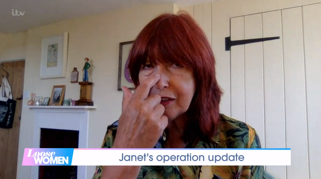 Janet SP on Loose Women