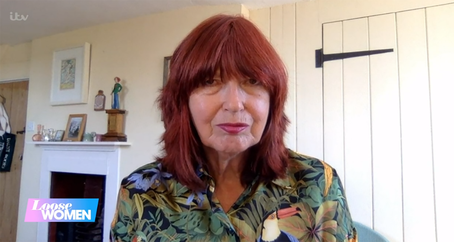 Janet Street Porter reveals she has skin cancer on Loose Women