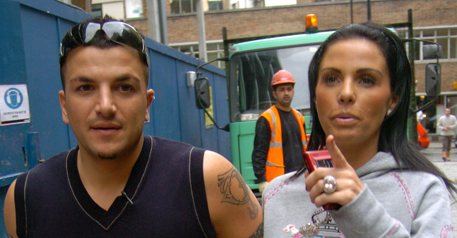 Katie Price reveals friendly 'banter' with ex Peter Andre