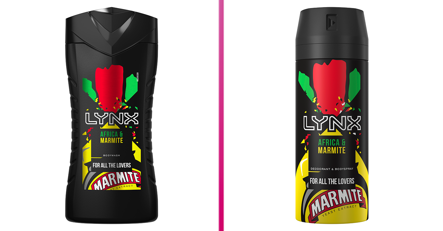 Lynx teams up with Marmite to launch the 'world's first social distancing deodorant'