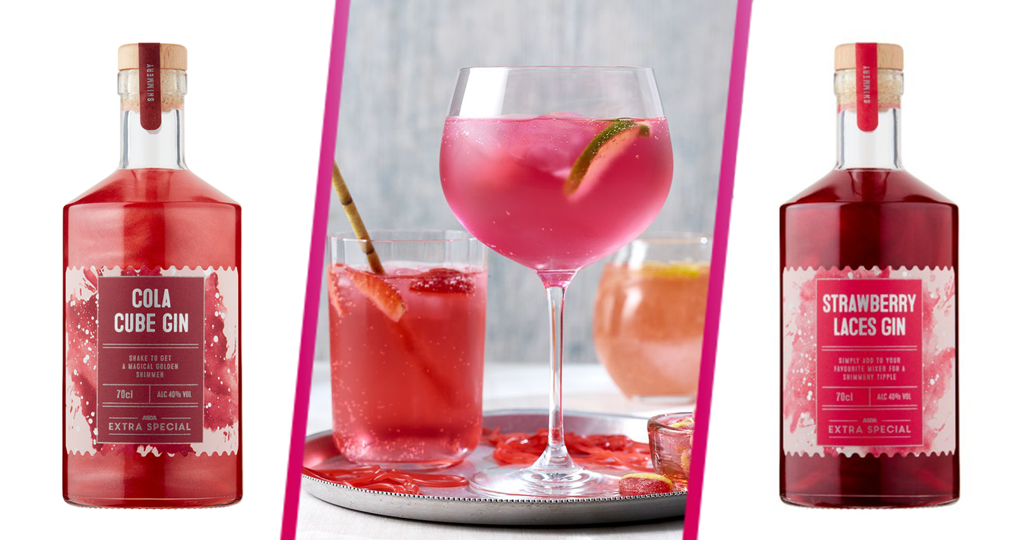 Asda launches range of sweet shop-inspired gins that taste like cola cubes and strawberry laces