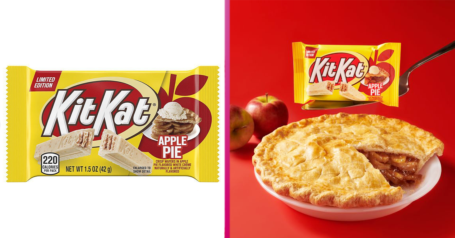 Apple Pie KitKat exists and it's now available in the UK – for a limited time only!