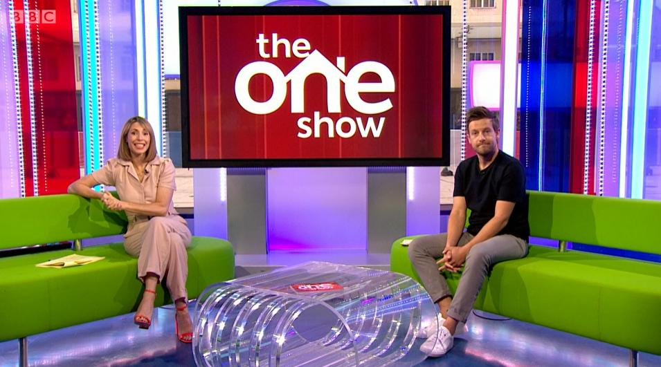 The One Show Alex Chris BBC