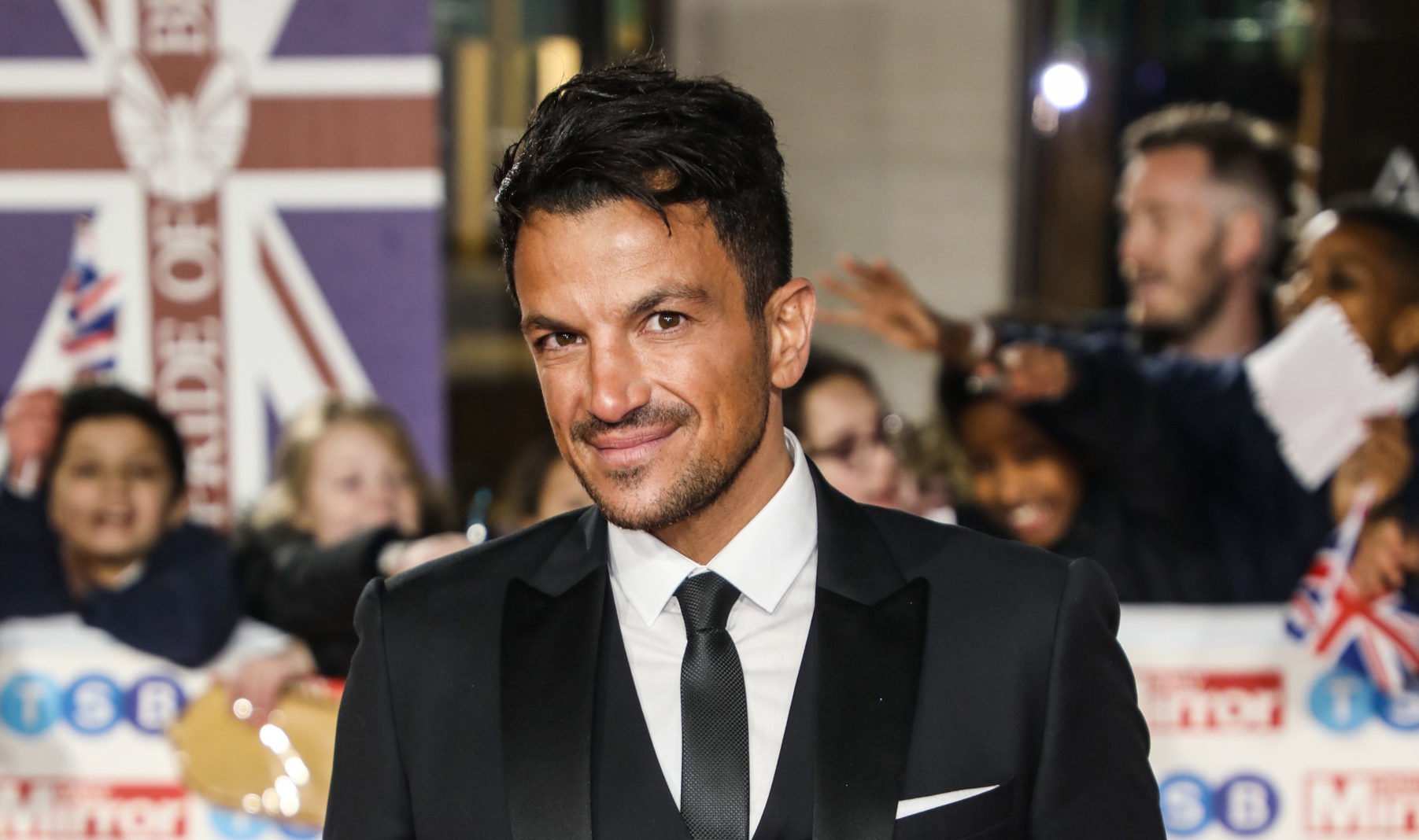 Peter Andre shares delight as he successfully styles daughter Amelia's hair