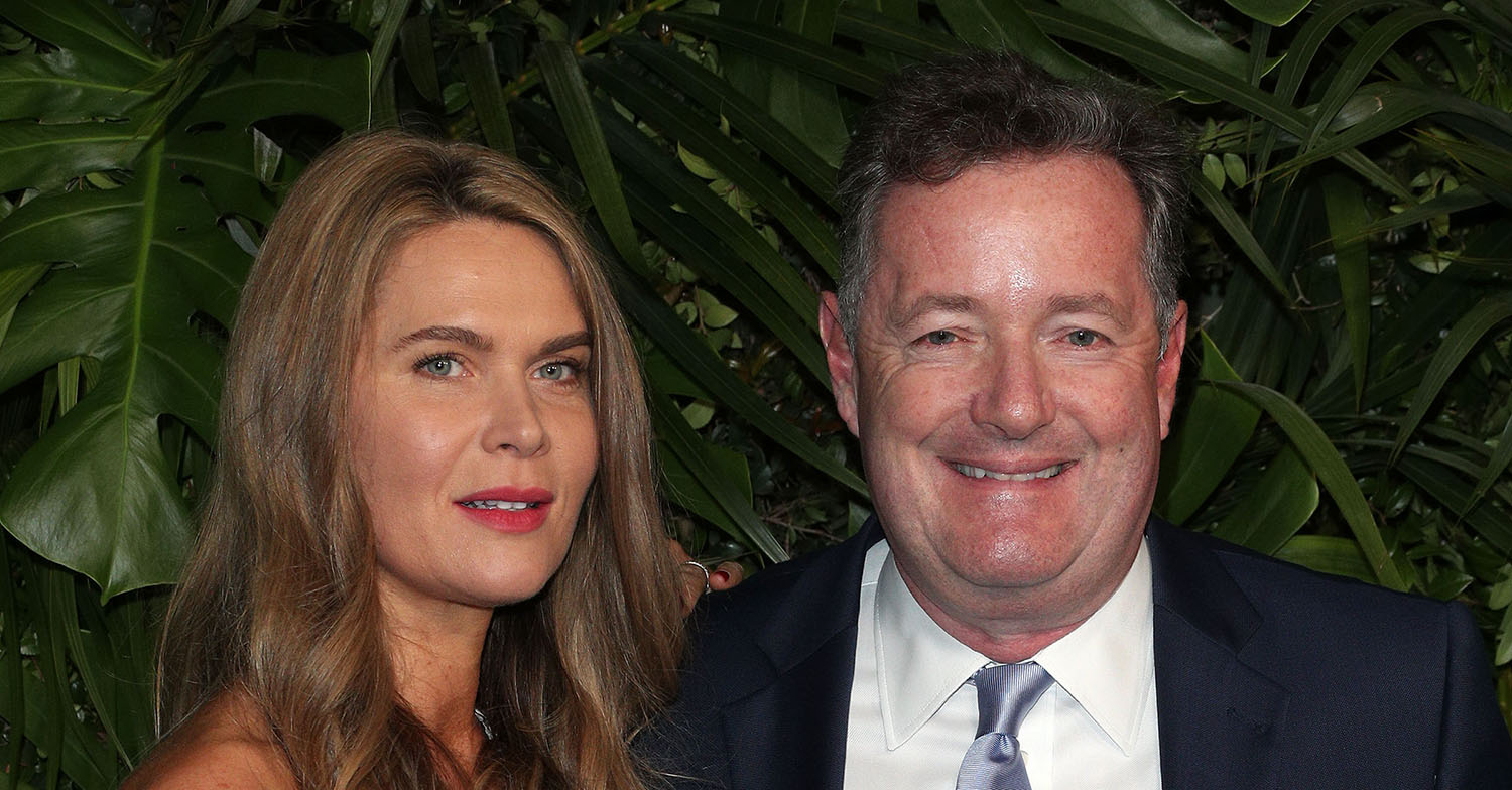 Celia Walden responds to Piers Morgan anniversary tribute: 'We are so not that couple'