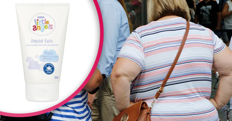 Mum hails miracle 90p Asda baby product that banishes summer 'chub rub'