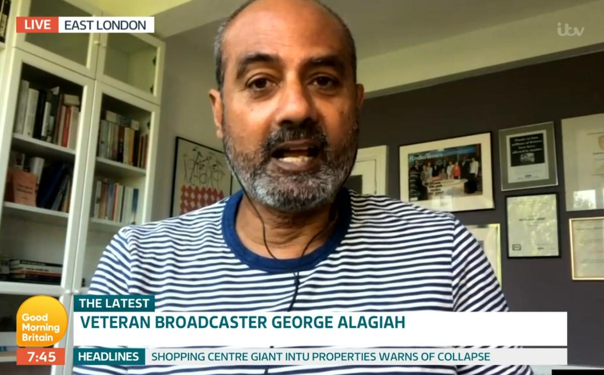 George Alagiah (Credit: ITV)
