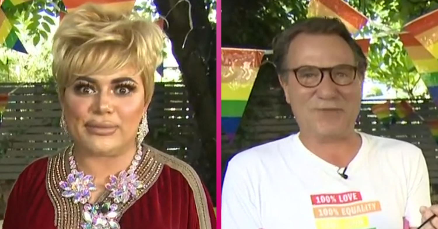 RuPaul's Drag Race star Baga Chipz divides GMB viewers with controversial Pride jokes